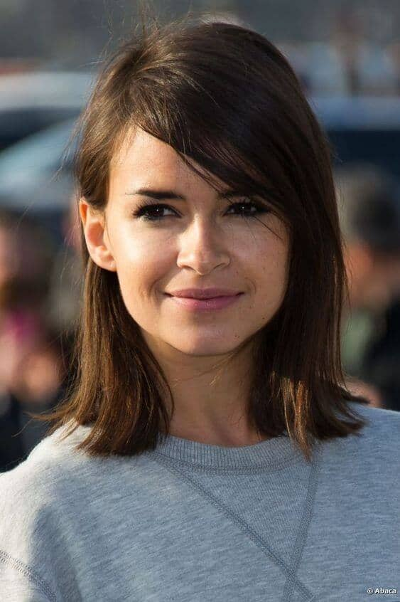 Cute Haircut with Side Swept Fringe