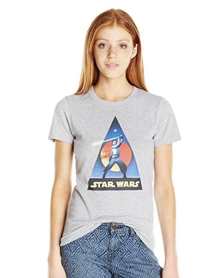 Star Wars Women's Vintage Rey T-Shirt