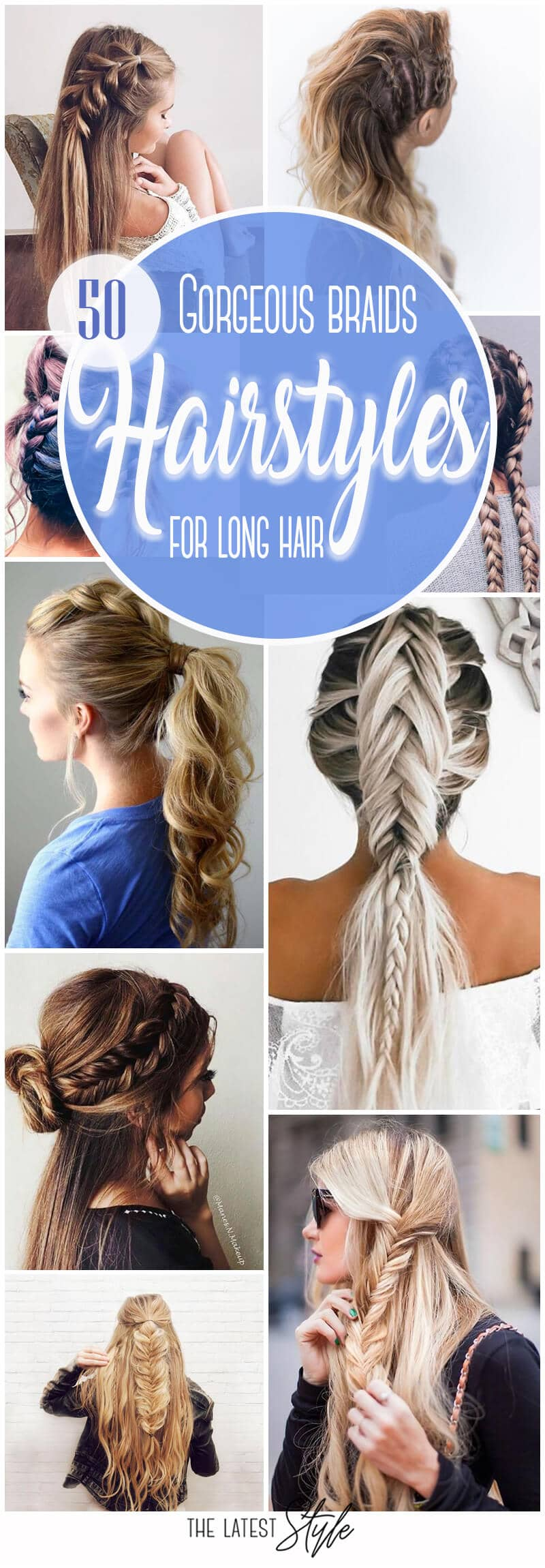 50 Gorgeous Braids Hairstyles For Long Hair