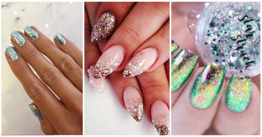 50 Fabulous Ways to Wear Glitter Nails Like a Boss