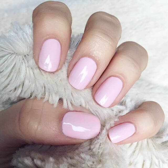 Cotton Candy Ultra-Girly Light Pink Nails