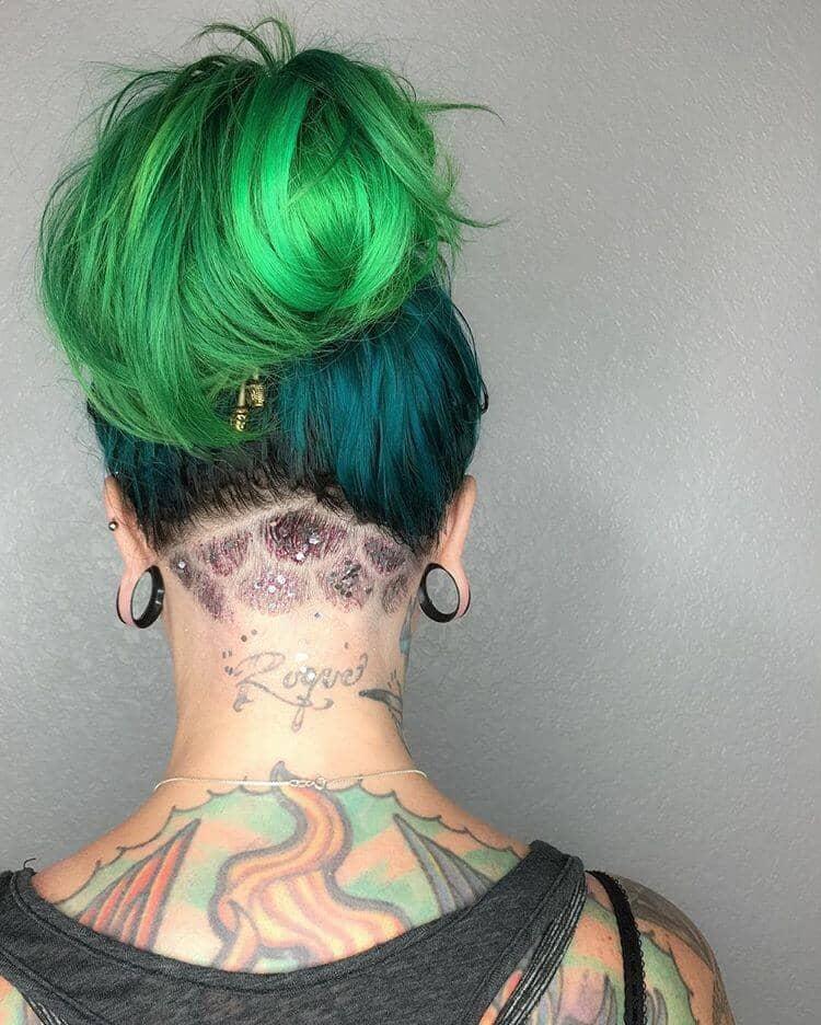 Teal Hair Dye for Dark Hair Colors