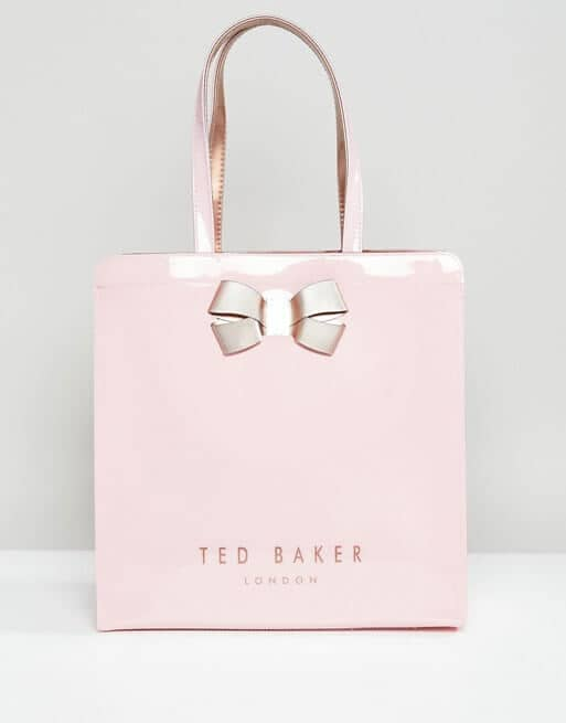 Stylish and Girly Handbag with Pink Bow