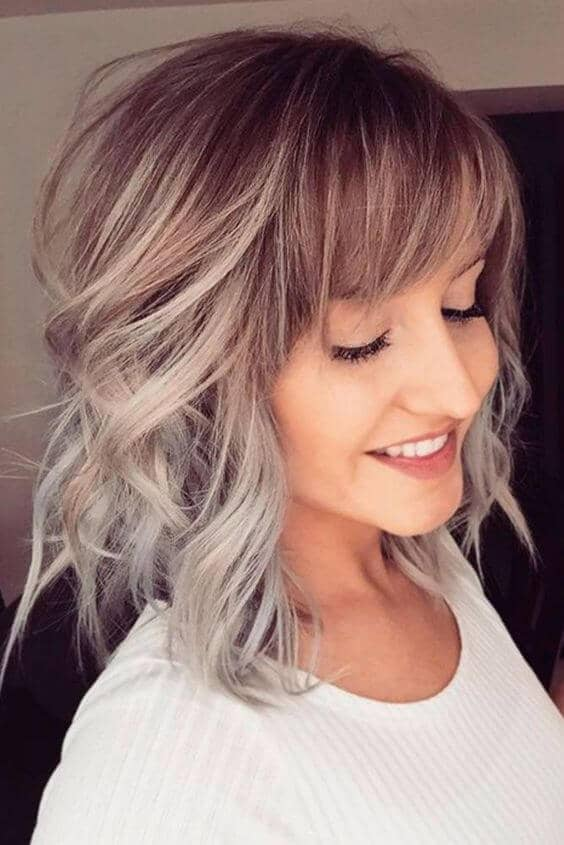 Short Curly Hair With Bangs And Layers 59