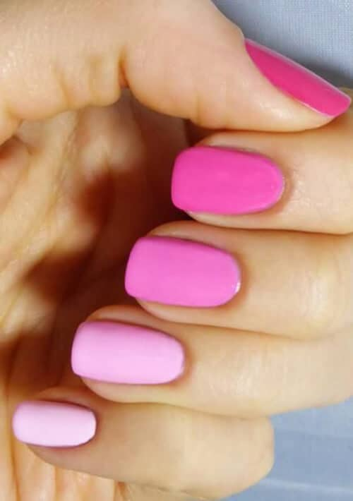 Different Nail Shapes: 50 Sweet Pink Nail Design Ideas For A Manicure That Suits