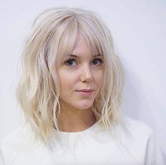 Perfectly Platinum Cute Easy Hairstyle