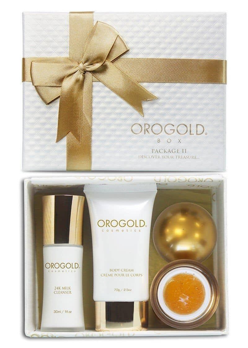 Cleanser, Moisturizer, and Peel Set by OROGOLD