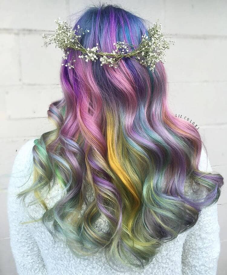 mermaid style hair 50 magical ways to style mermaid hair for every hair type 2680 | 22 nice hair thecuddl
