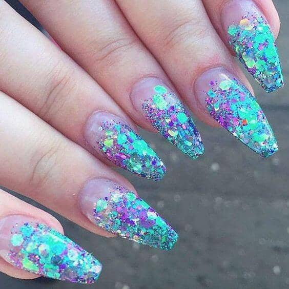 osmic Wonderland Magical Little Mermaid Nails