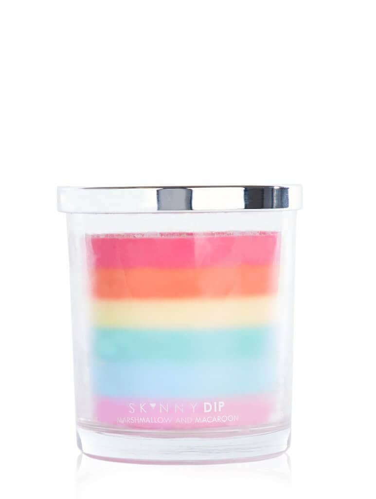 Skinnydip Sweet Rainbow Candle for Women