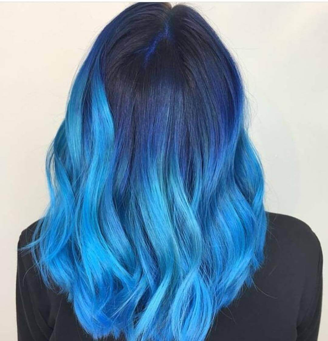 Bright and Beautiful Blue Hair