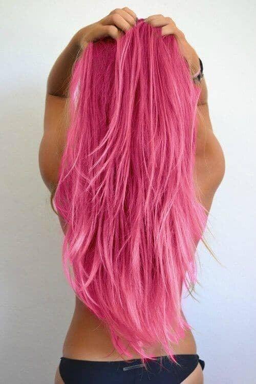 Brilliant Fuchsia Pink Mermaid Hair