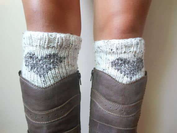 Cutesy Boot Cuffs Handmade for Women