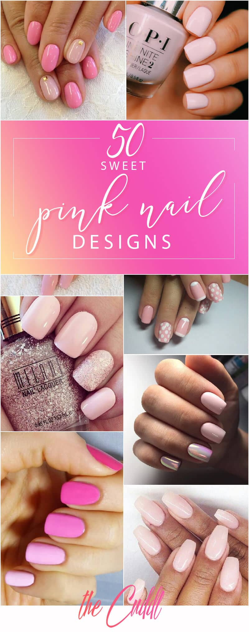 50 Sweet Pink Nail Design Ideas for a Manicure That Suits Exactly What You  Need - 50 Sweet Pink Nail Design Ideas For A Manicure That Suits Exactly