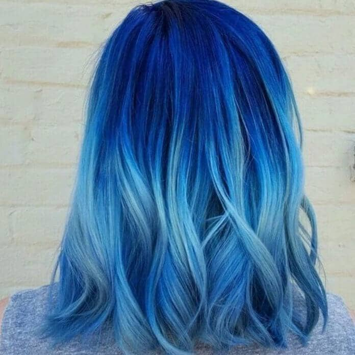50 fun blue hair ideas to become more adventurous in 2018