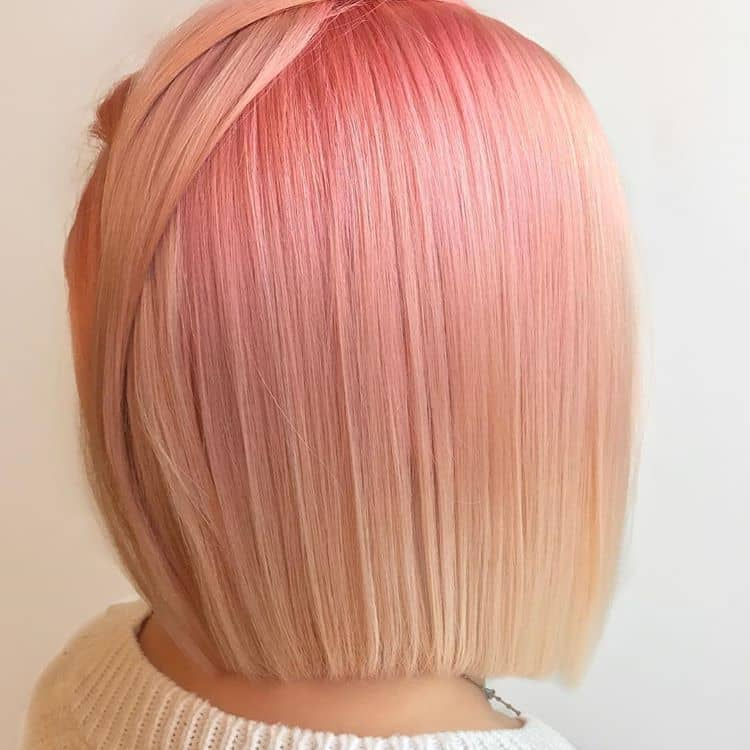 Pretty and Vibrant Short Pink Hair