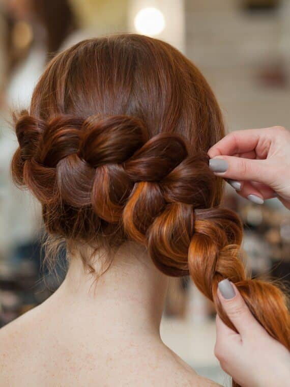 Gorgeous Side Braided Look with Body