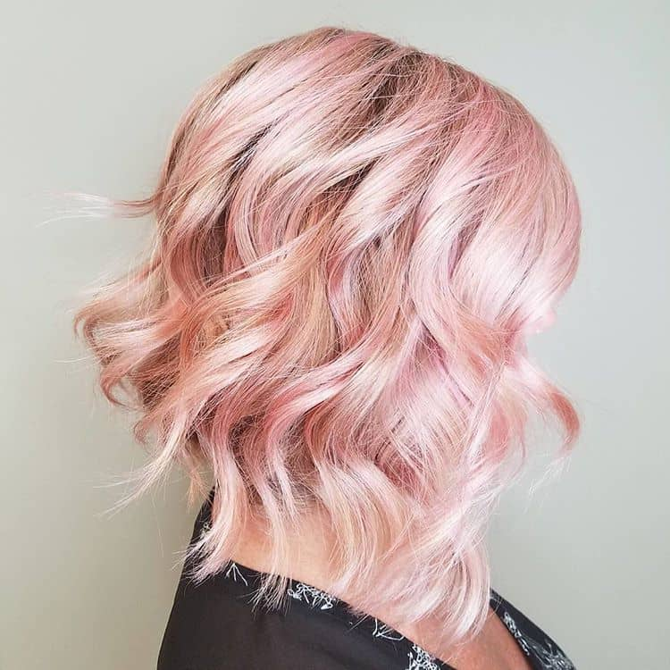 Cute and Simple Baby Pink Hair
