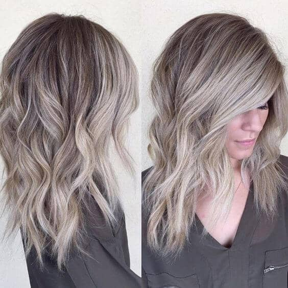 Pretty Cool Ombre Ash Waves