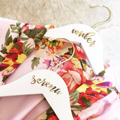 Personalized Hangers for the Whole Bridal Party