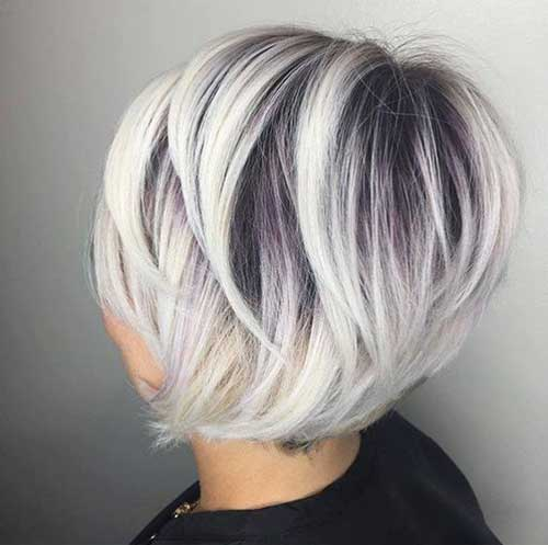 Short and Sweet with Platinum Highlights