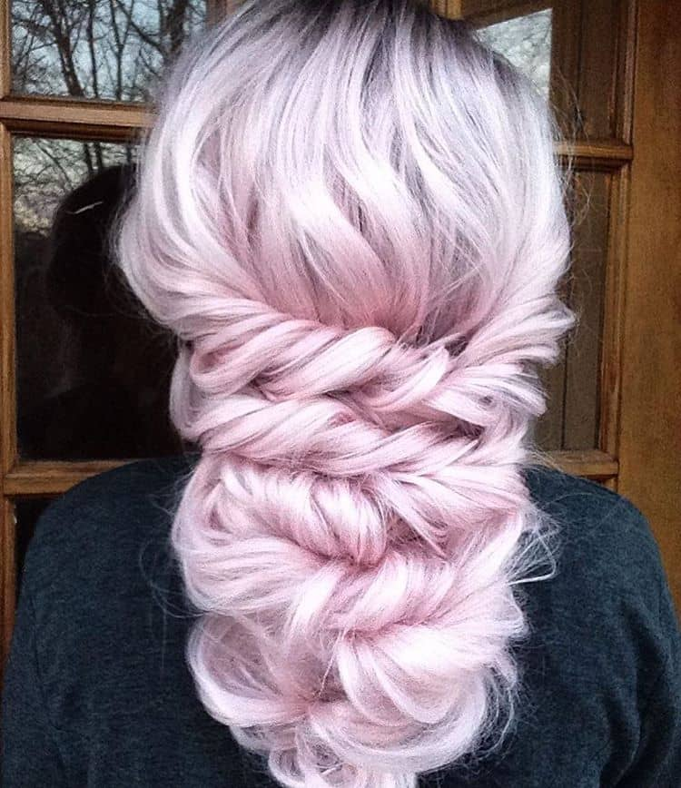 Barely There Pastel Hair Color