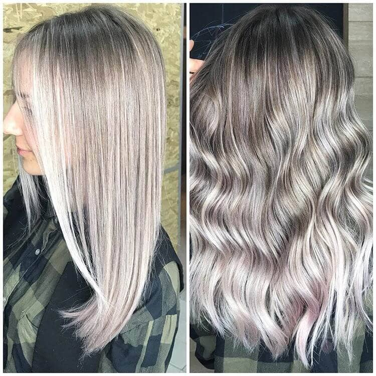 Short Waves with Platinum Highlights