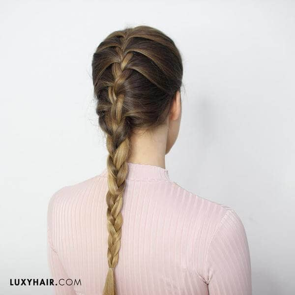 Classic French Braid Hairstyle for the Ages