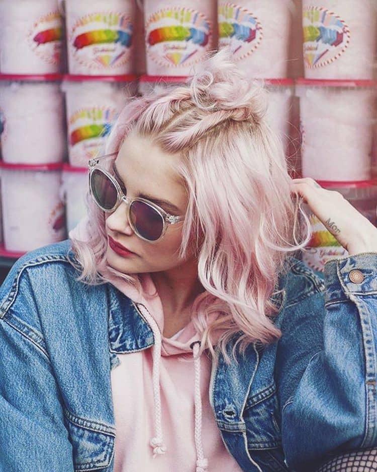 Super Girly Pastel Pink Hair
