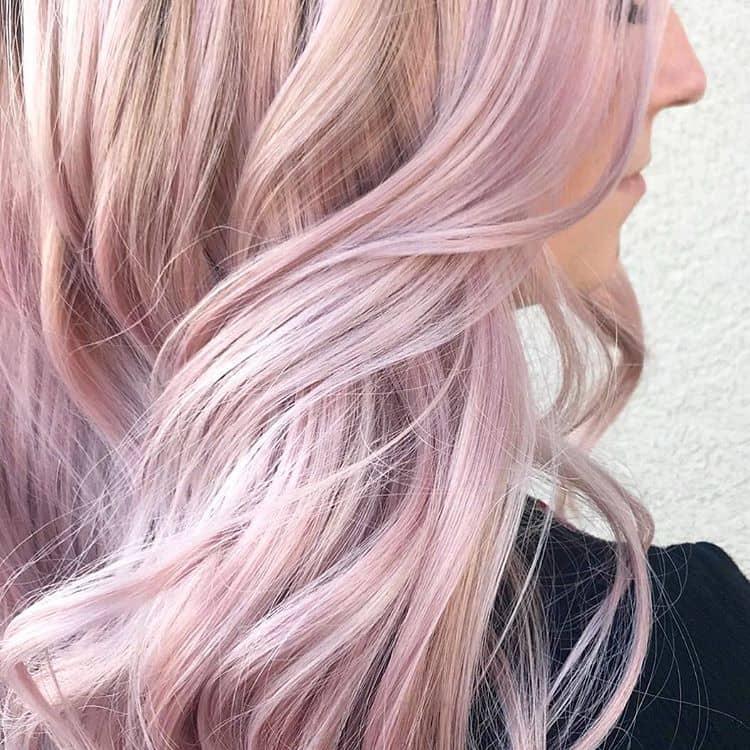 Beautiful Blush Pink Hair Ideas