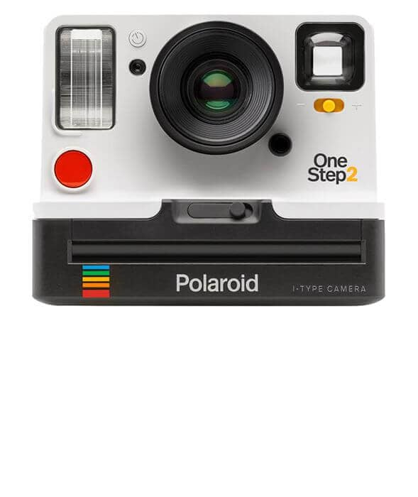Retro Polaroid Camera to Keep Her Memories