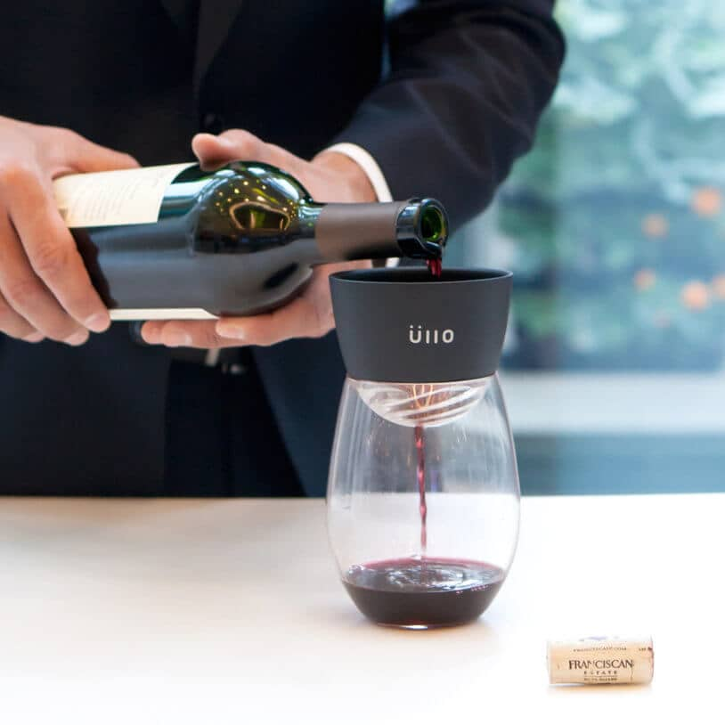 Ilo Wine Purifier to Enhance Her Enjoyment