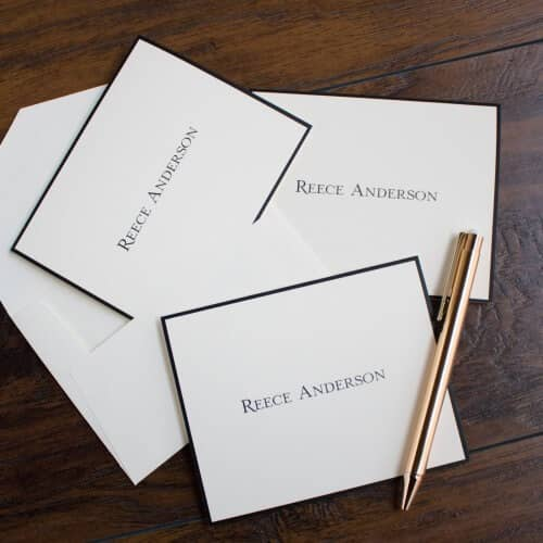 Elegant Customizable Viola Stationary Set