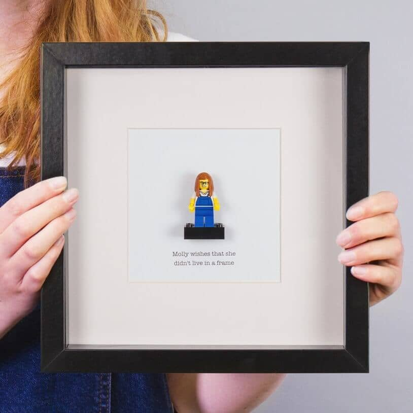 Personalized Brick Figure for Mom