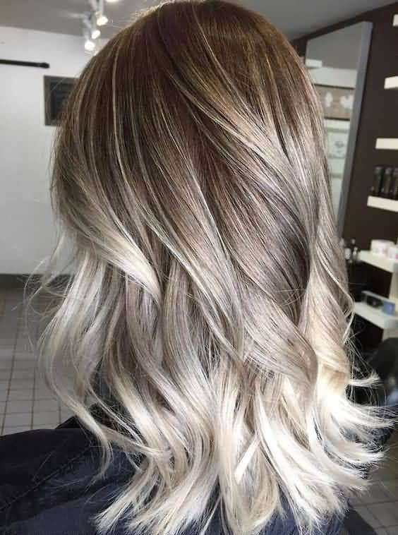 Brown Blonde Balayage Highlighted Curls