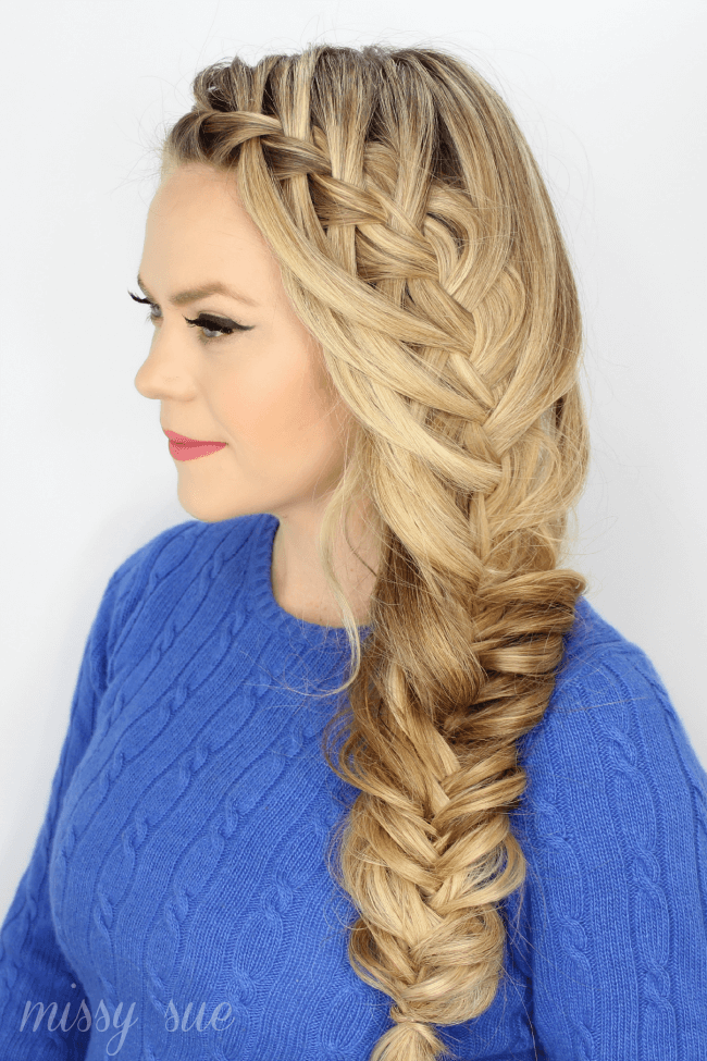 Fabulously Braided Hair to One Side