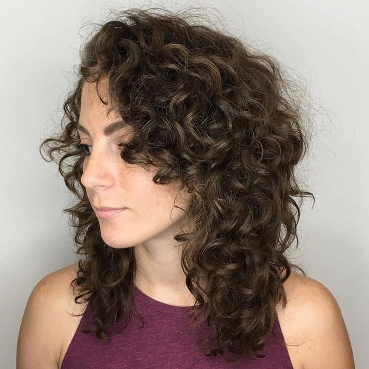 curly haircuts with layers 50 brilliant haircuts for curly hairstyle 2018 5781