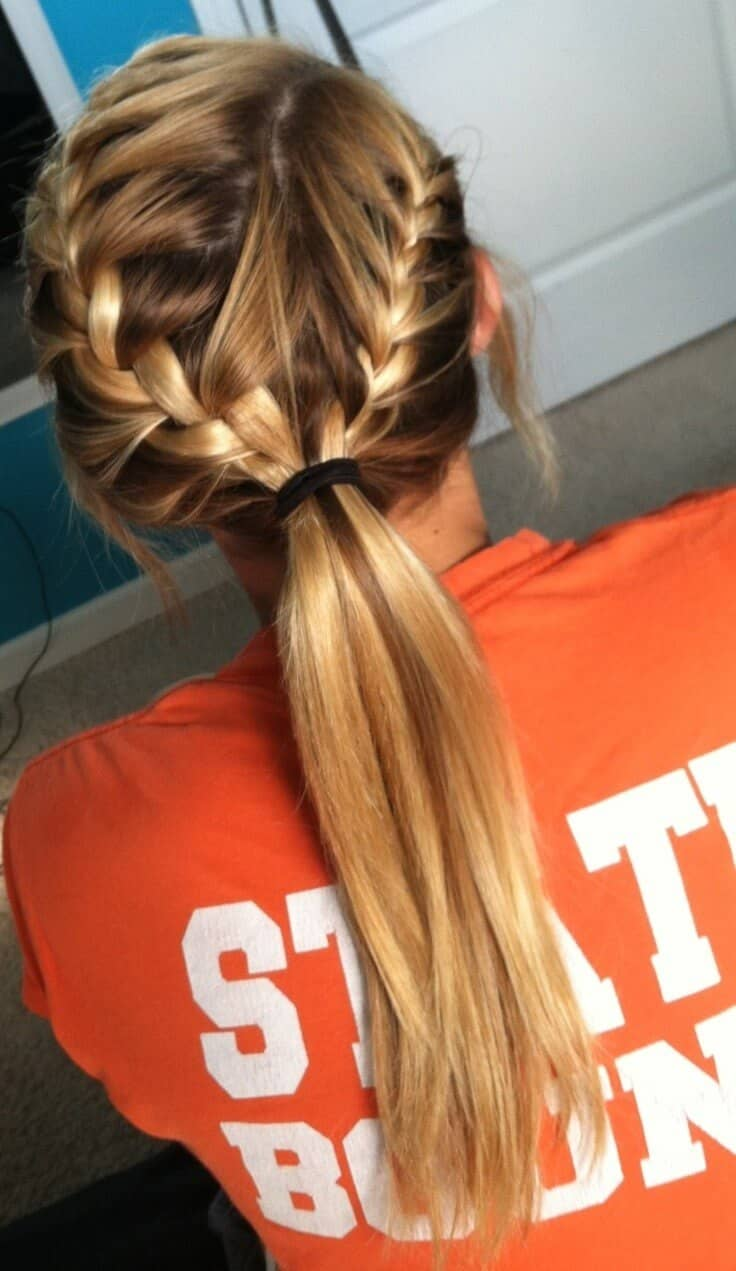 Two Braids Pulled Into One