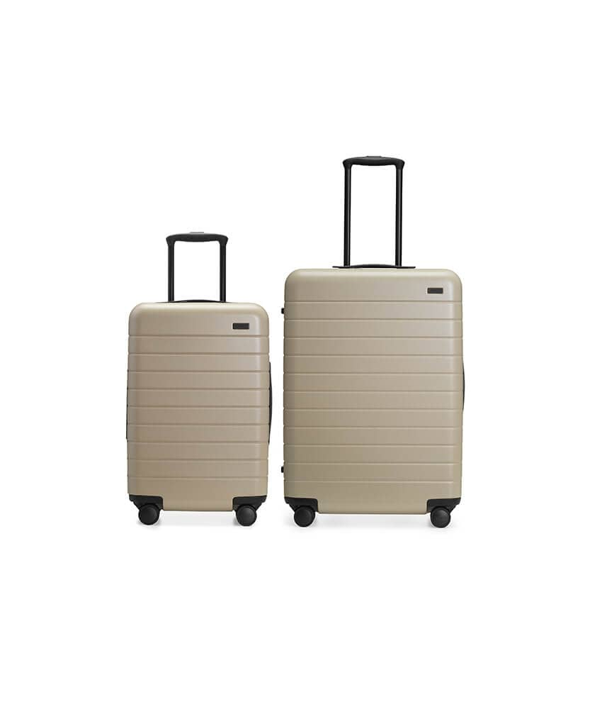 One Carry on and One/Two Checked Bags