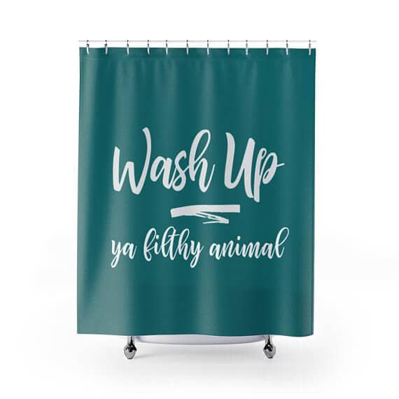 Hilarious Quote Shower Curtain for the Bathroom
