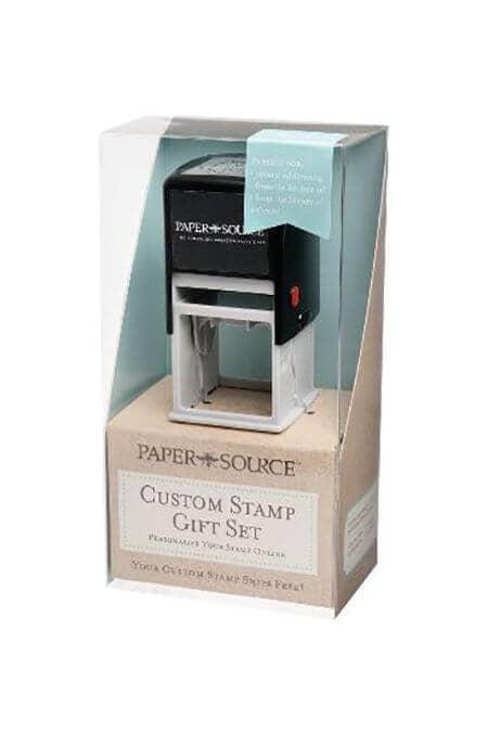 Custom Stamp Gift Box