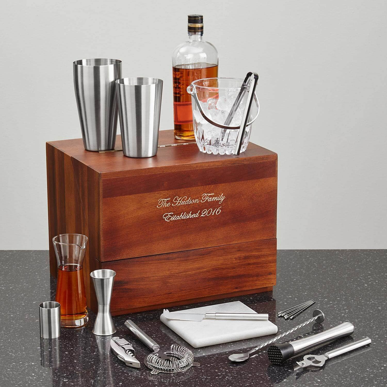 20 Piece Modern Mixologist Bar Set