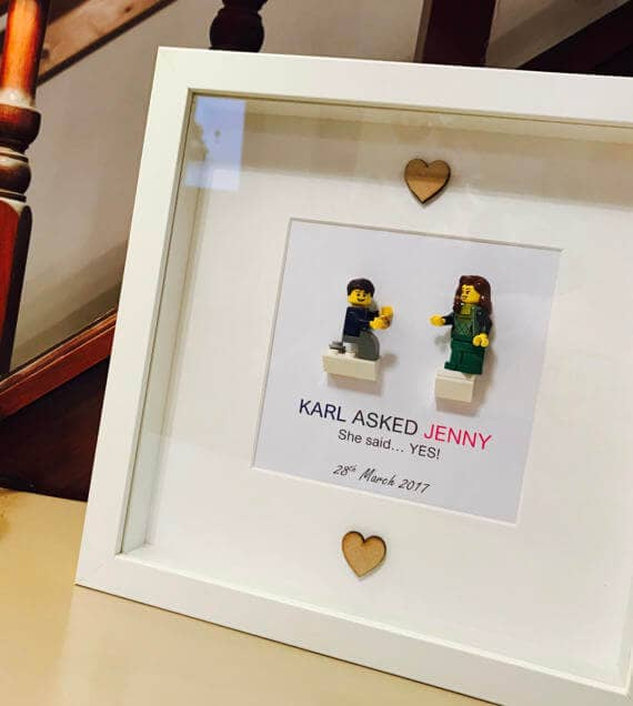 Lego Framed Picture