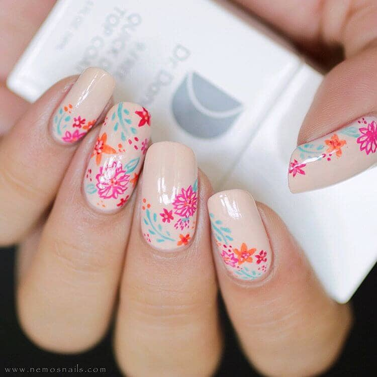 Hand Painted Nail Art Designs: 50 Sweet Birthday Nails To Brighten Your Special Day