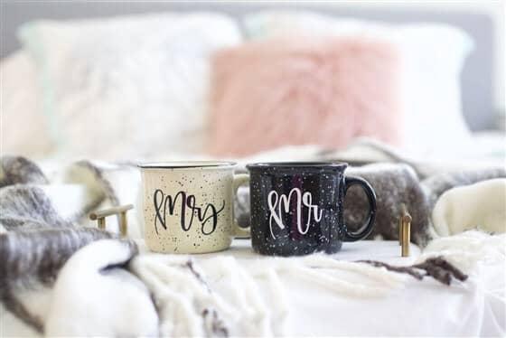 Mr. and Mrs. Camper Mug Set