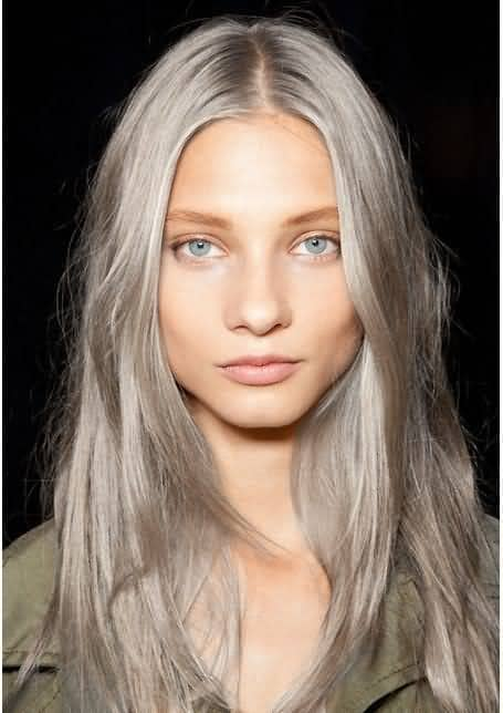 Simple Long Layers in an Ashy Hue