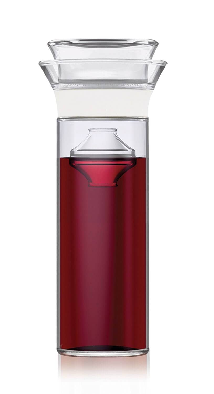 Carafe that Keeps Wine Fresh