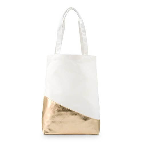Glimmering Gold Canvas Tote Bag