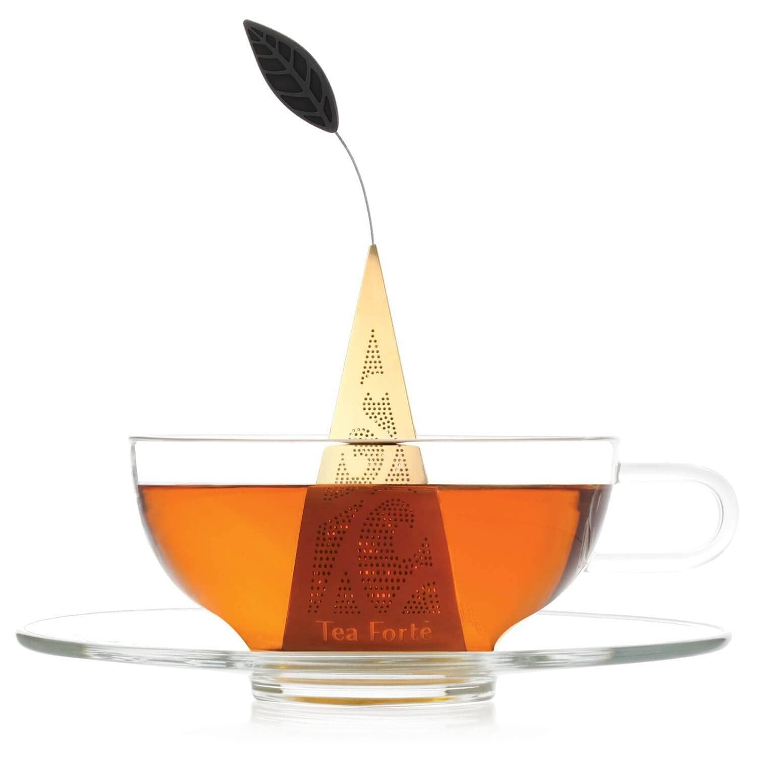 Elegant Pyramid Tea Infuser for Mom