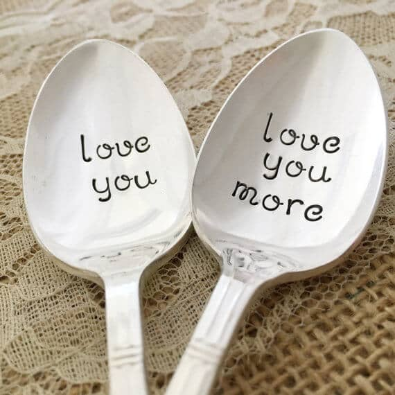 Love You, Love You More Spoon Set